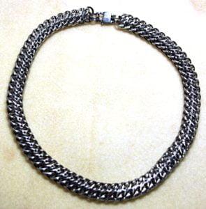 Chainmaille neckchain