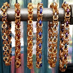 Bronze Byzantine bangles