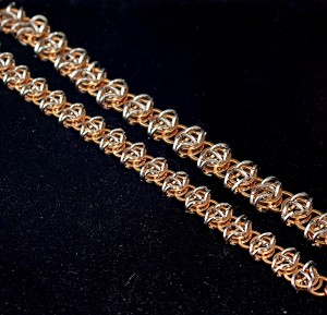 Celtic Visions chainmaille bracelets